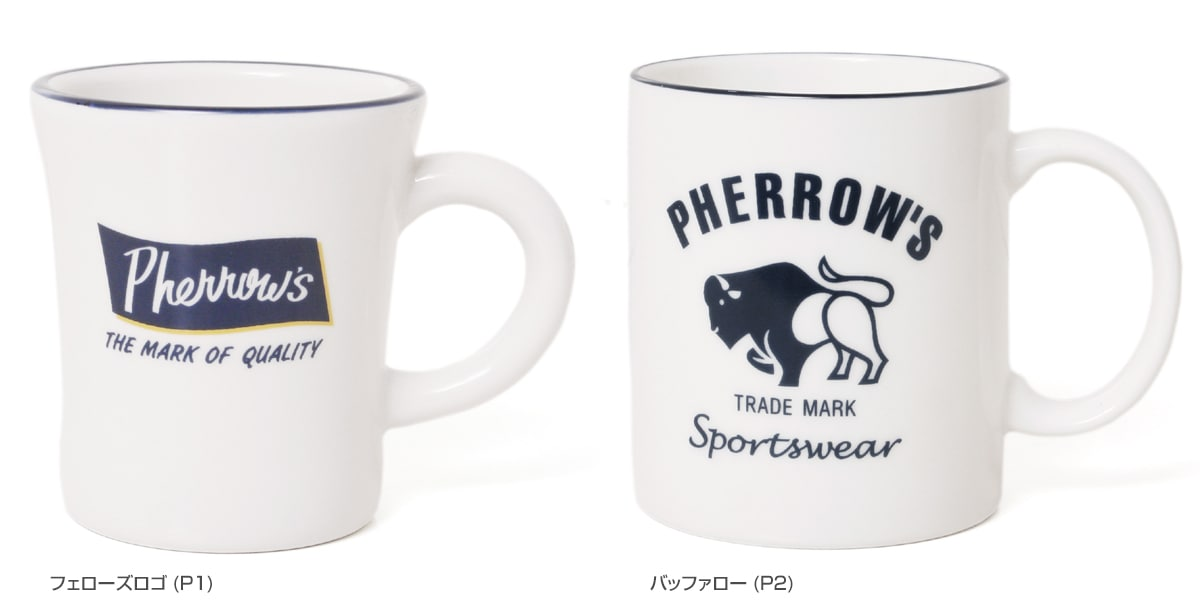 Pherrow's フェローズ マグカップ