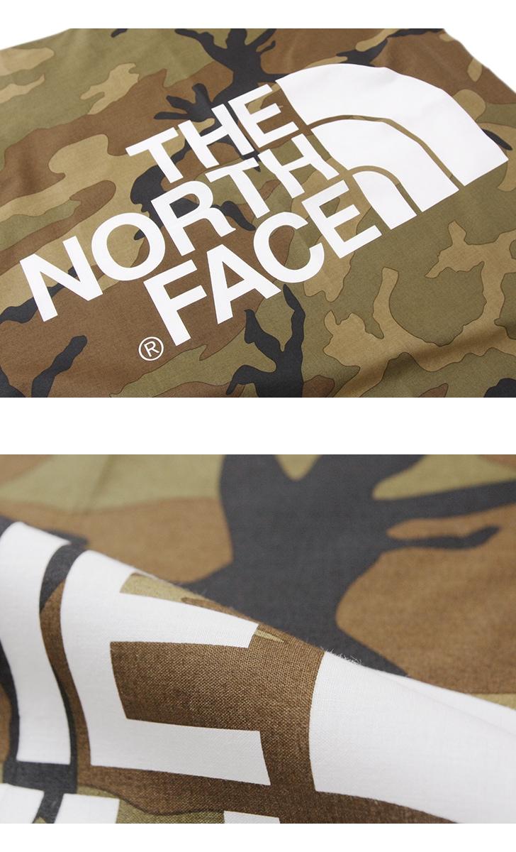 THE NORTH FACE ザ ノースフェイス TNFロゴバンダナ NN21901