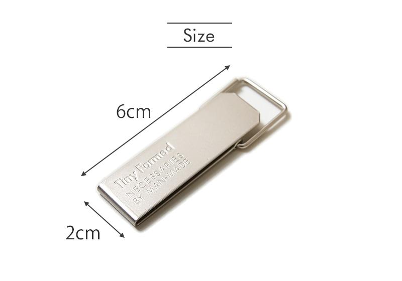 タイニーフォームド Tiny metal key clip タイニー メタル キークリップ