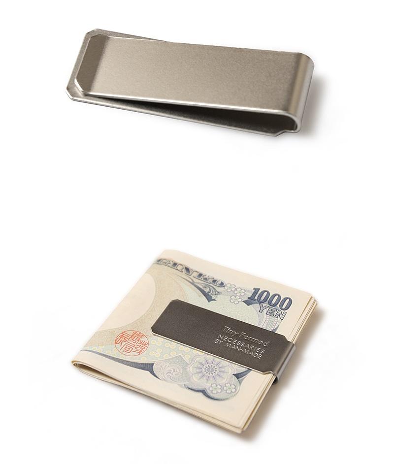 タイニーフォームド Tiny metal money clip タイニー メタル マネークリップ