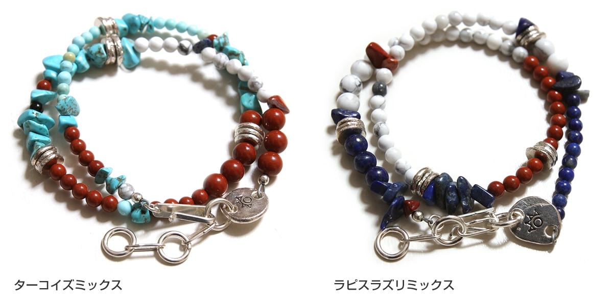 ツナイハイヤ カラーフィールドビーズブレスレット3 Tsunai Haiya Colorfield Beads Bracelet III