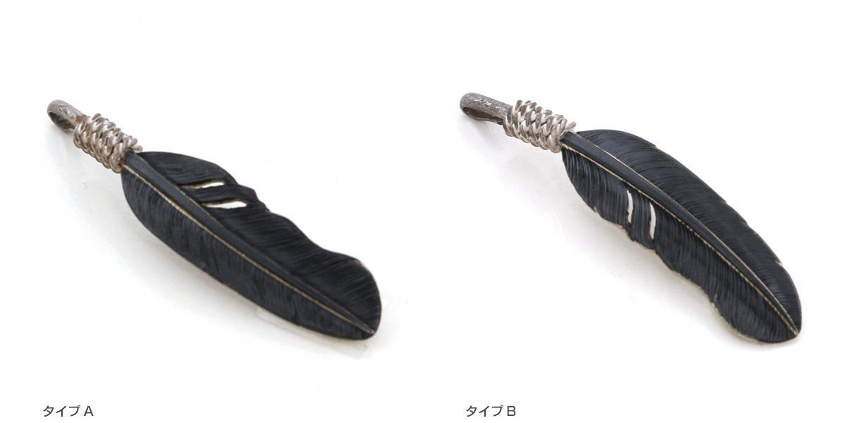 Tsunai Haiya ツナイハイヤ James Crowe Feather Pendant S ジェームスクロウ フェザー ペンダント Sサイズ ネックレス