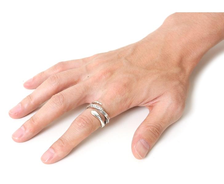 Tsunai Haiya ツナイハイヤ Snake Ring スネークリング 指輪 シルバーリング