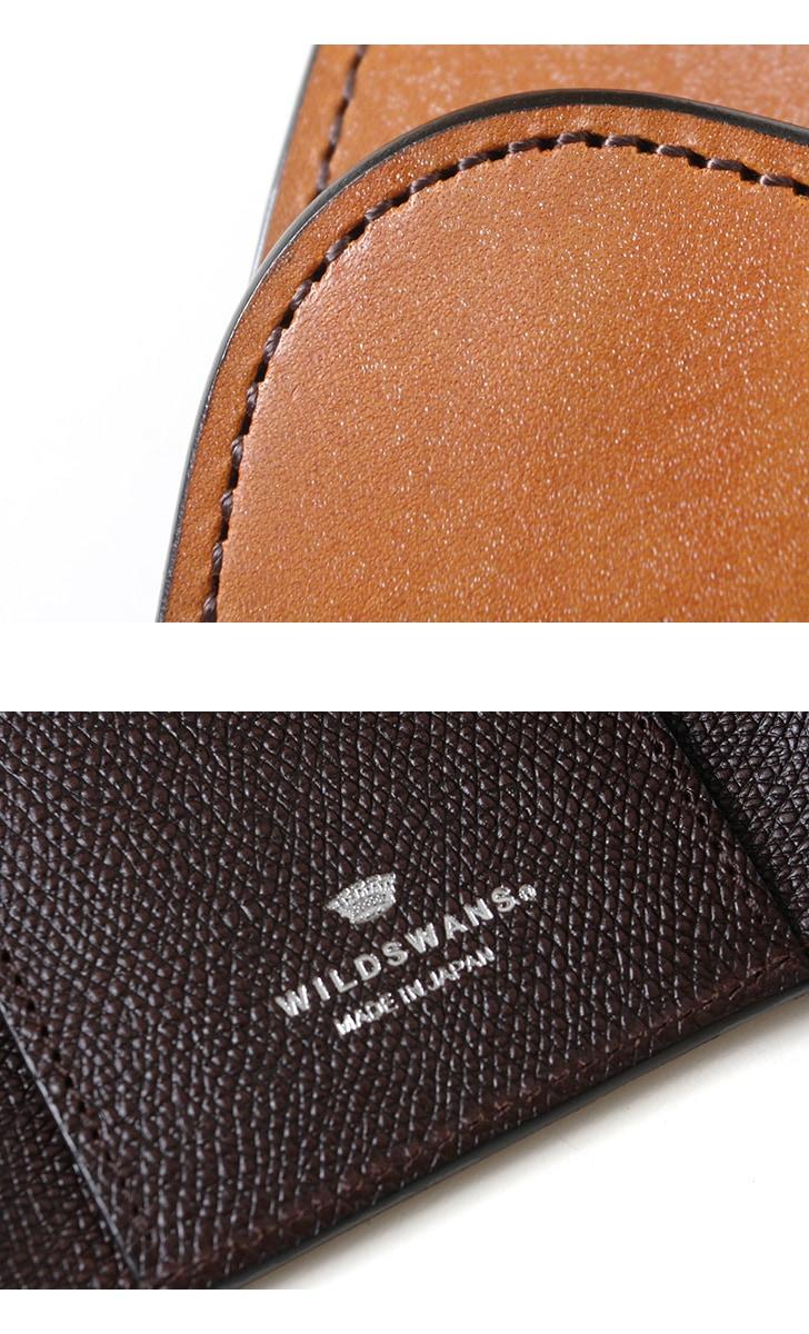 WILDSWANS ワイルドスワンズ BYRNE バーン フルグレインブライドルレザー×サドル型押し ベイカー マシュア 三つ折り財布 ウォレット 限定 別注