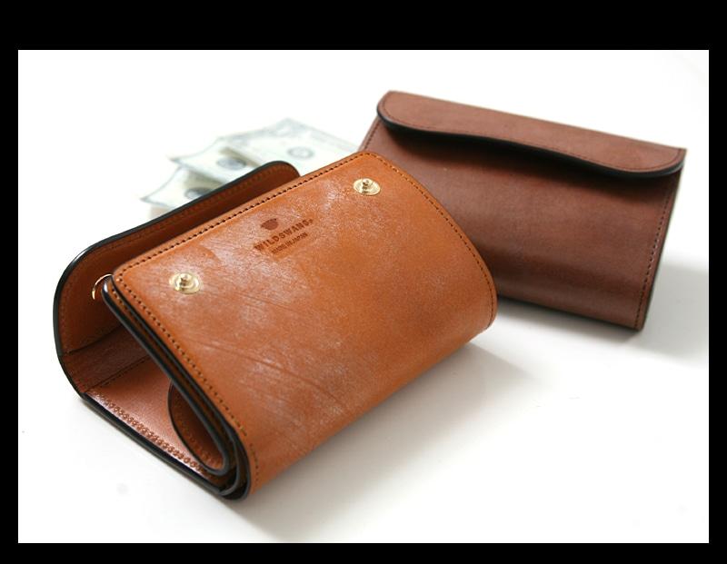 WILDSWANS ワイルドスワンズ BYRNE バーン フルグレイン ブライドルレザー ベイカー 三つ折り財布 ウォレット