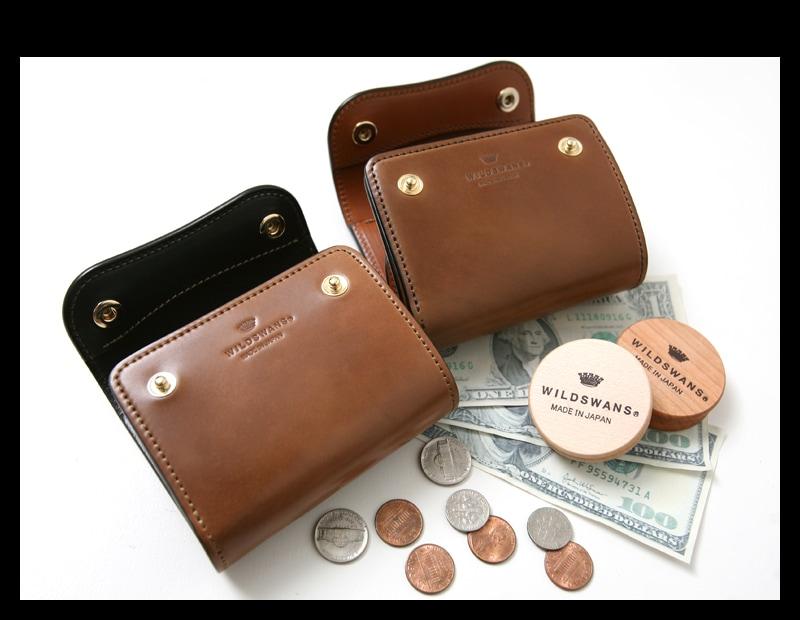 WILDSWANS ワイルドスワンズ ENO イーノ ホーウィン コードバン バーボン 三つ折り財布 ウォレット 限定 別注