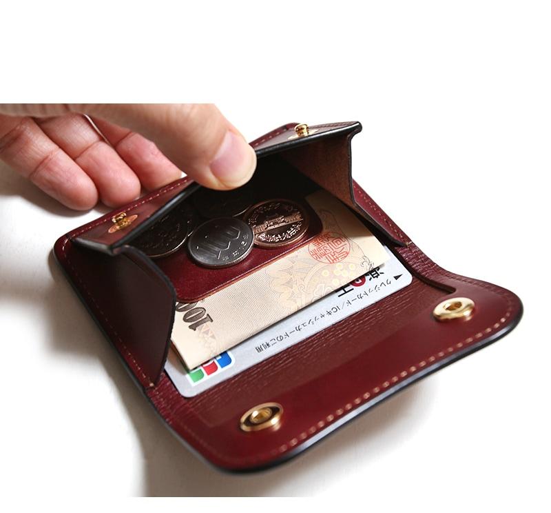 WILDSWANS ワイルドスワンズ TONGUE タング イングリッシュブライドル コインケース 小銭入れ