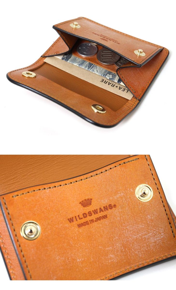 WILDSWANS ワイルドスワンズ TONGUE タング フルグレイン ブライドルレザー ベイカー コインケース