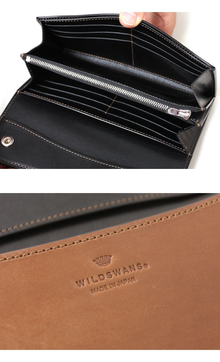 WILDSWANS ワイルドスワンズ WAVE ウェイブ ホーウィン コードバン バーボン 長財布 ロングウォレット 限定 別注