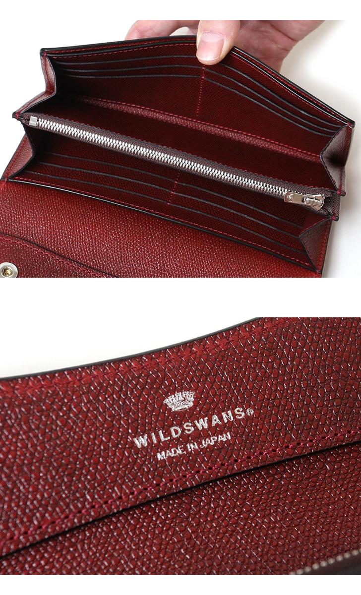 WILDSWANS ワイルドスワンズ WAVE ウェイブ フルグレインブライドルレザー×サドル型押し ベイカー マシュア 長財布 ロングウォレット 限定 別注