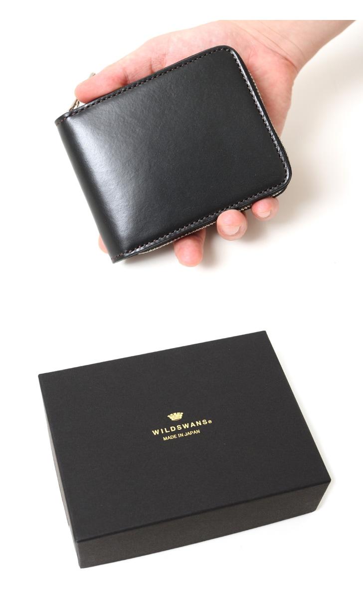 WILDSWANS ワイルドスワンズ EVANS エヴァンス ラウンドジップ 財布