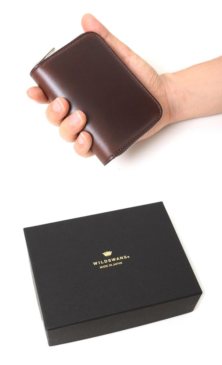 WILDSWANS ワイルドスワンズ LAFARO ラファロ ラウンドジップ カード&コインケース