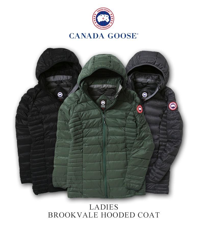 カナダグース ブルックベイルコート レディース CANADA GOOSE BROOKVALE COAT 日本正規品