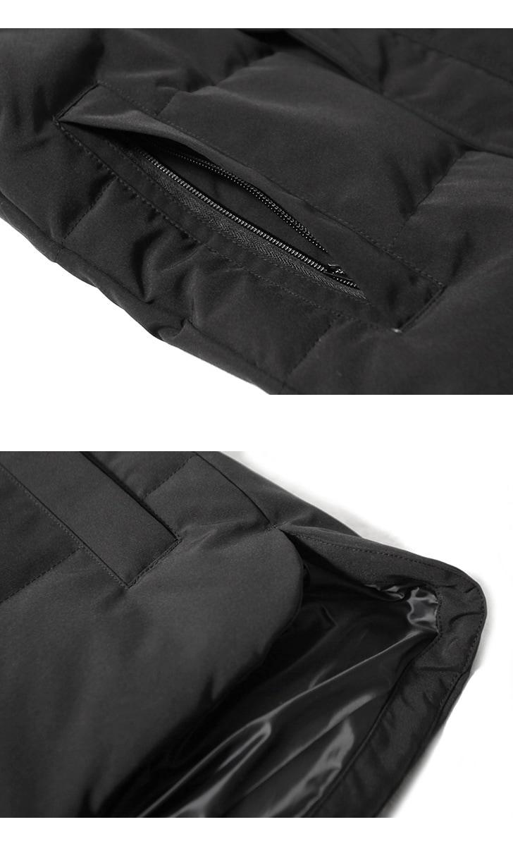 カナダグース マクミラン ブラックディスク CANADA GOOSE MACMILLIAN BLACK DISK メンズ ダウン ジャケット コート