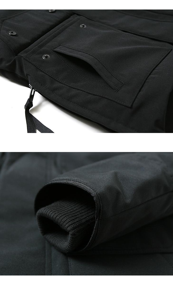 カナダグース メイトランド ブラックディスク メンズ CANADA GOOSE MAITLAND ダウン コート ジャケット 日本正規品
