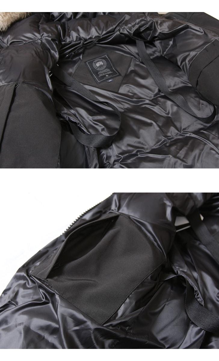 カナダグース シェルバーン ブラックディスク レディース CANADA GOOSE SHELBURNE BLACK DISK 日本正規品  2018年 【クーポン対象外】