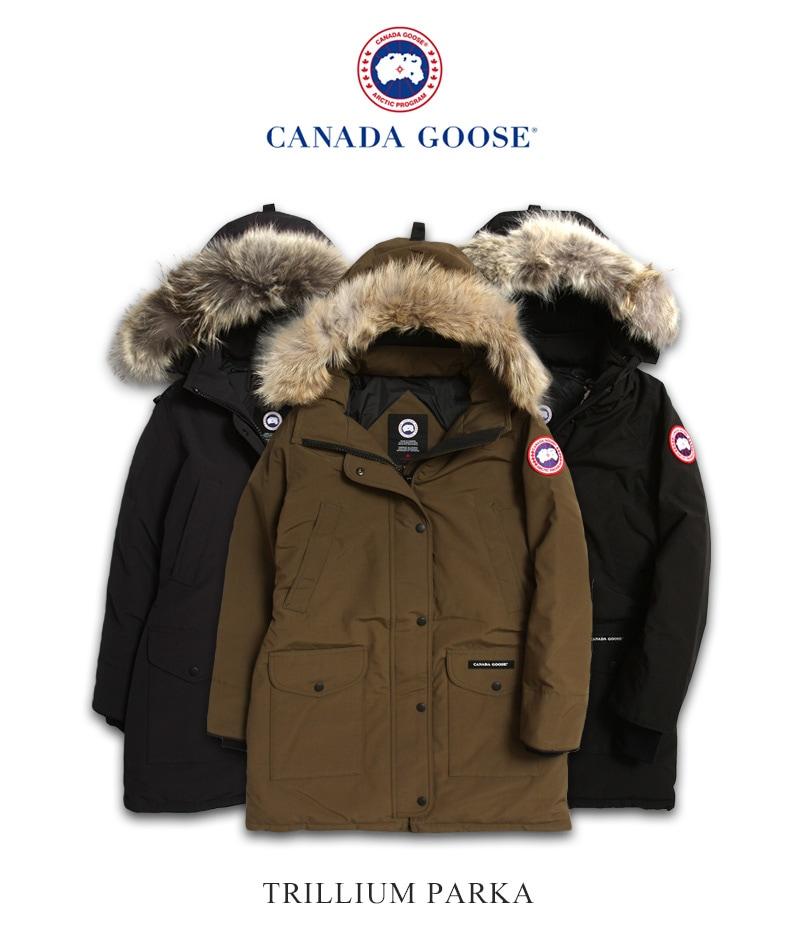 カナダグース トリリウムパーカ レディース CANADA GOOSE TRILLIUM PARKA