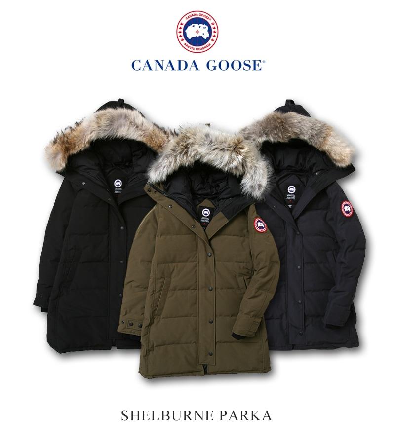 カナダグース シェルバーン レディース CANADA GOOSE SHELBURNE 日本正規品