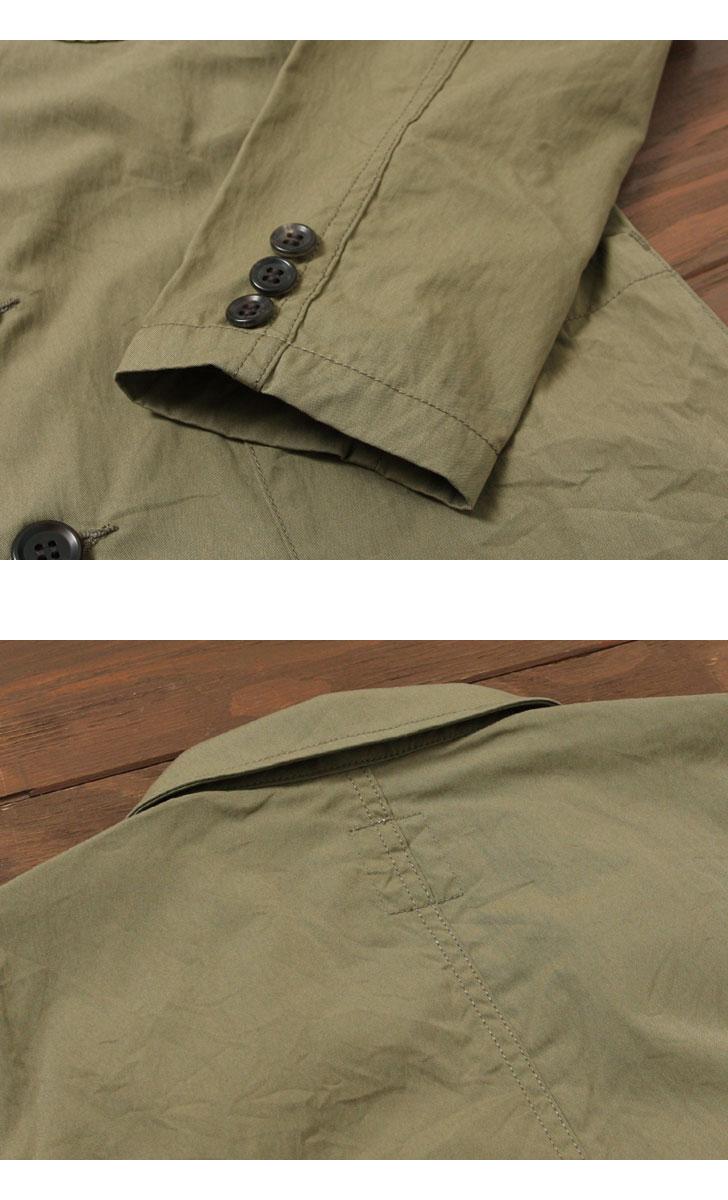 FOB FACTORY CARLO TAILORED JK カルロ テイラードジャケット F2350 FOBファクトリー