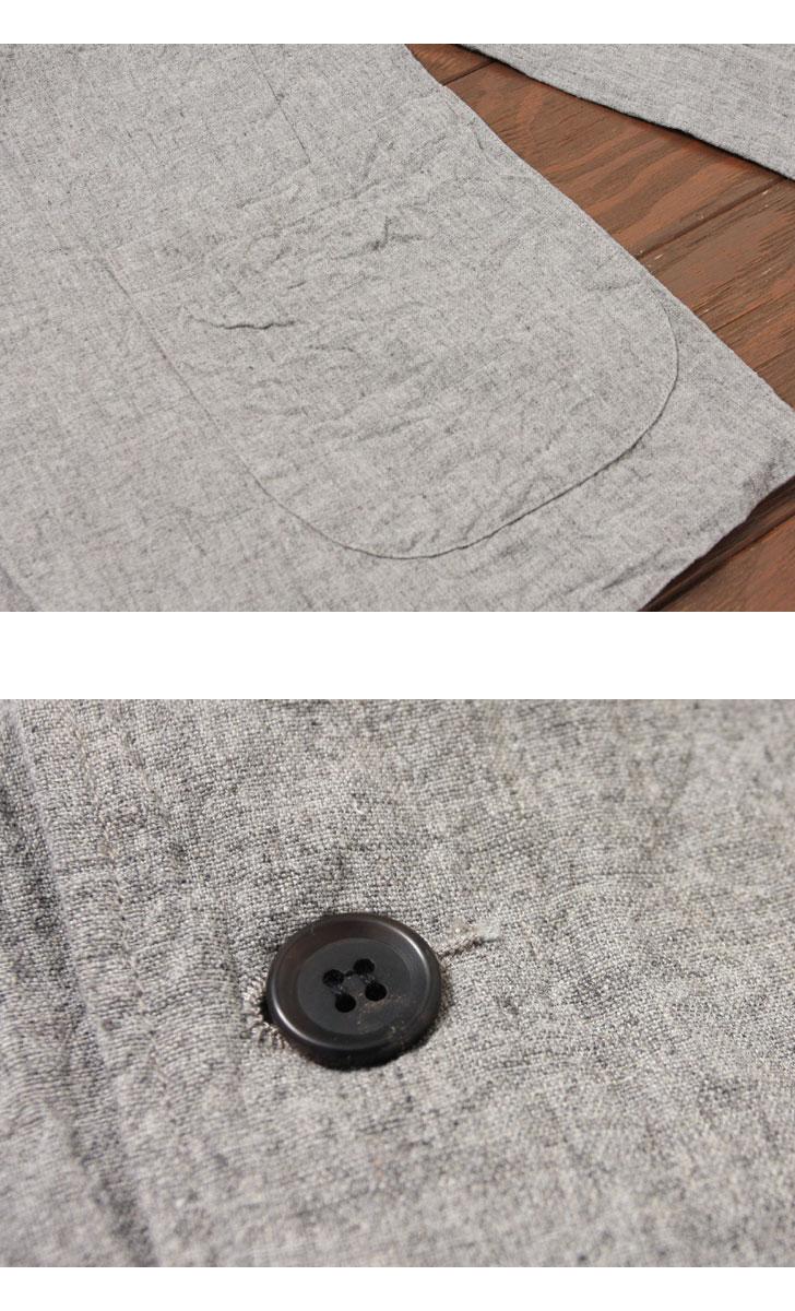 FOB FACTORY カルロリネンテイラードジャケット CARLO LINEN TAILORED JK F2357 FOBファクトリー