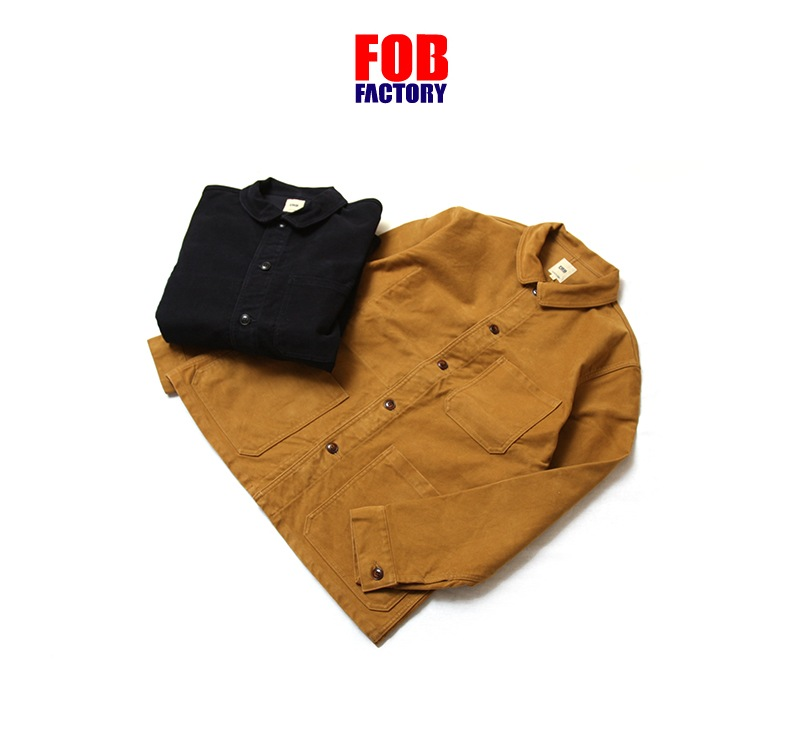 FOB FACTORY フレンチモールスキンジャケット FOBファクトリー FRENCH MOLESKIN JK F2373