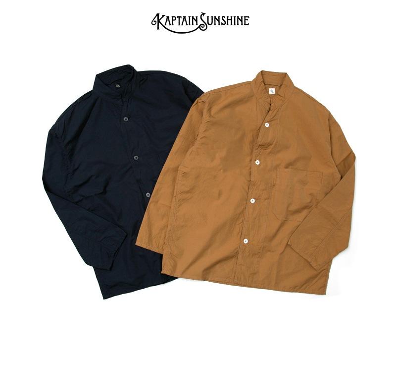 KAPTAIN SUNSHINE キャプテンサンシャイン Finx Cotton-Silk スリーピングジャケット KS8SJK02