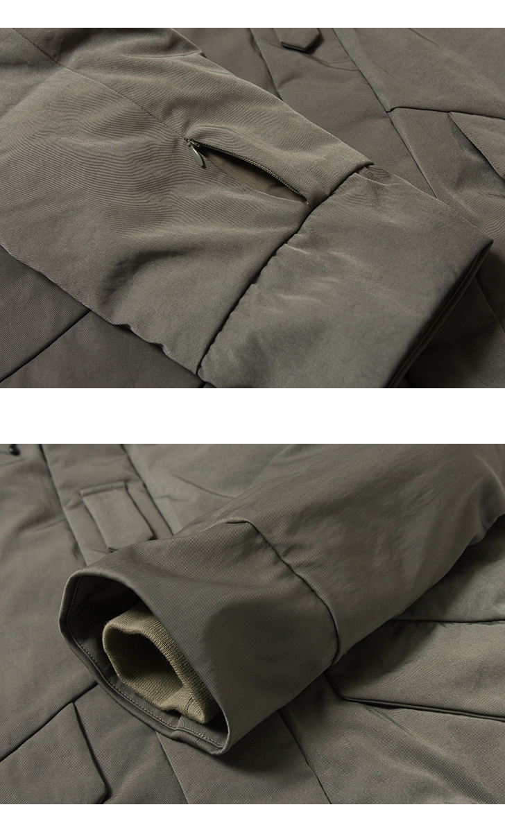 KIFFE キッフェ ECWCS エクワックスパーカー KF182TG25010