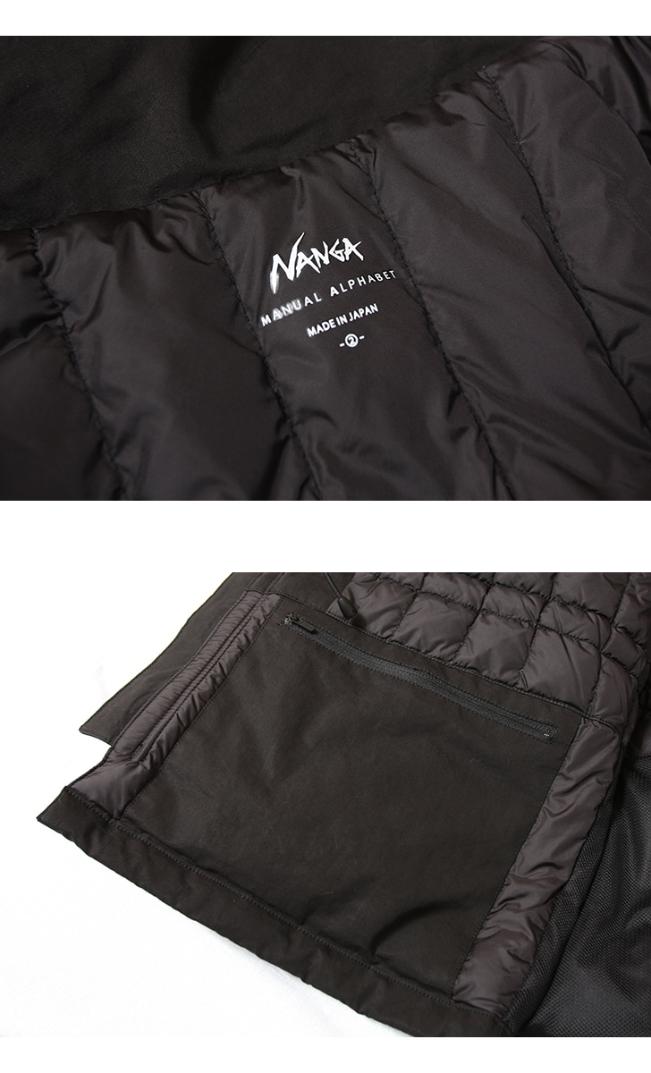 マニュアルアルファベット×ナンガ ECWCSダウンパーカ MANUAL ALPHABET NANGA MA-J-215