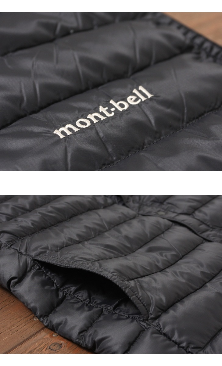 mont・bell モンベル インナーダウン スペリオダウン ラウンドネックベスト メンズ #1101505
