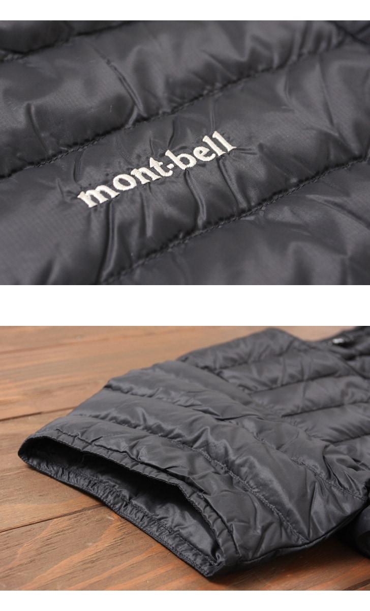 モンベル インナーダウン スペリオダウン ラウンドネックT メンズ 半袖 #1101507 mont・bell