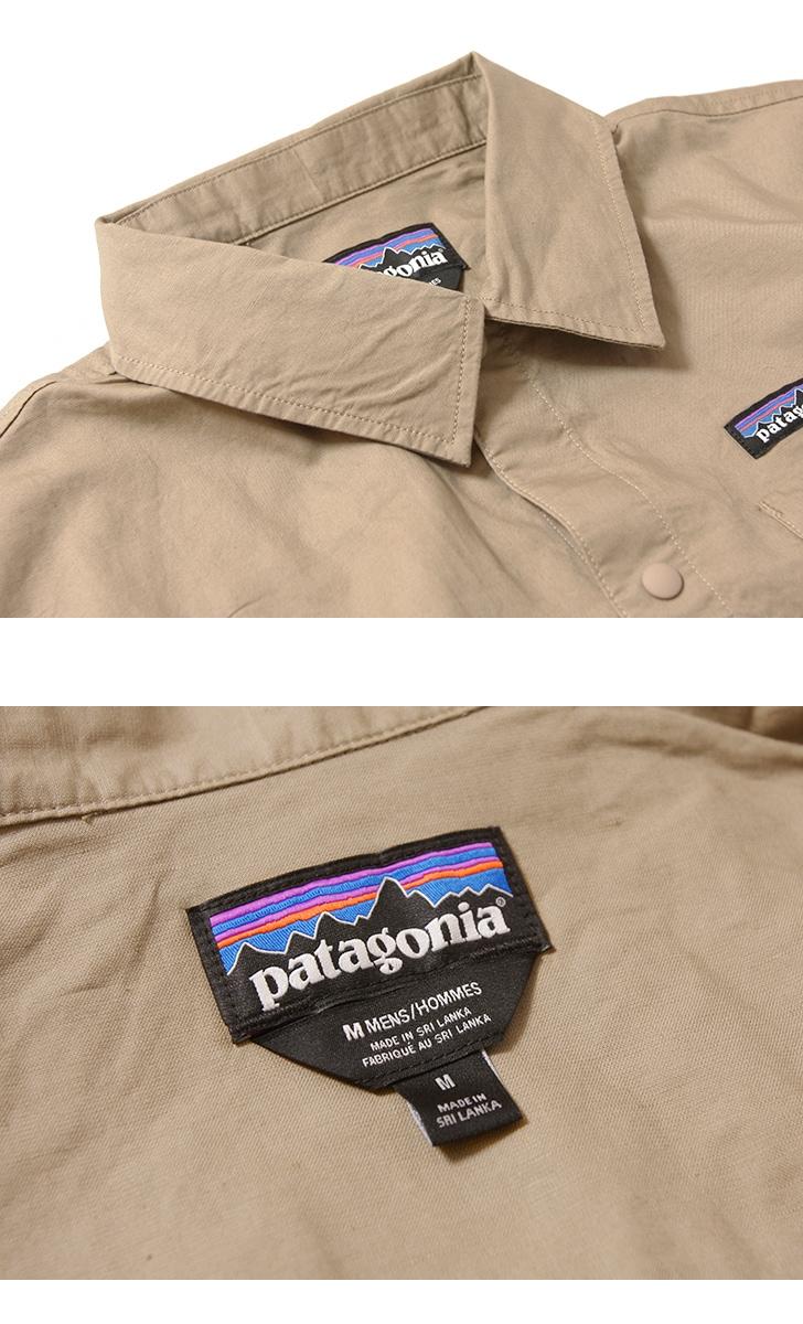 パタゴニア Patagonia メンズ・ライトウェイト・オールウェア・ヘンプ・コーチズ・ジャケット 25335
