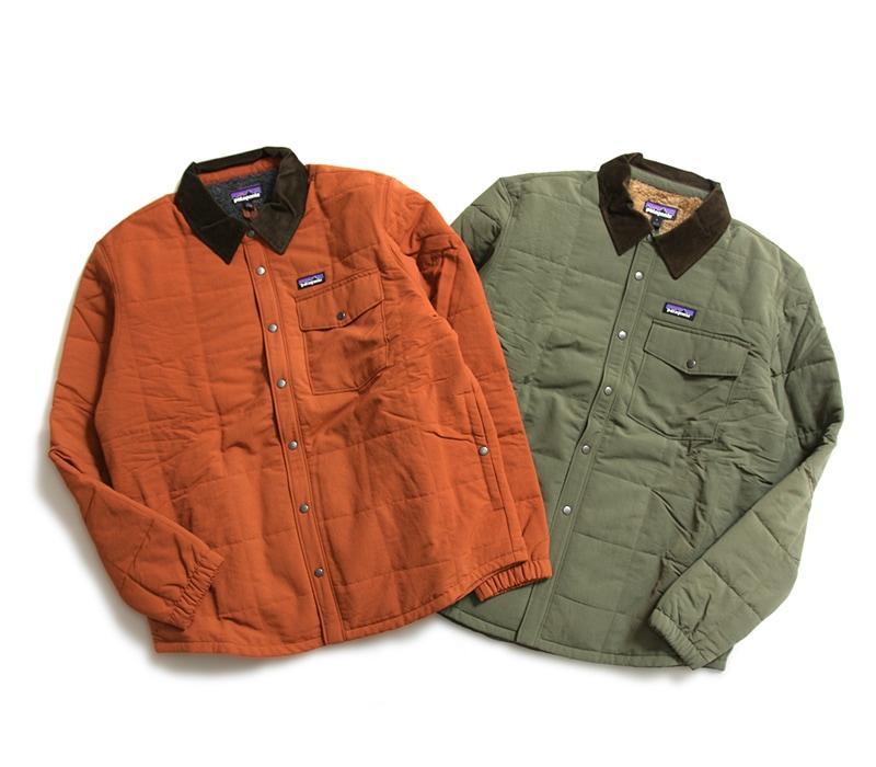 パタゴニア Patagonia メンズ イスマスキルテッドシャツジャケット M's Isthmus Quilted Shirt Jacket 26900 国内正規品
