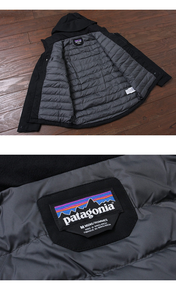 パタゴニア Patagonia メンズ トップリージャケット Men's Topley Jacket マウンテンパーカー ダウンジャケット 27900