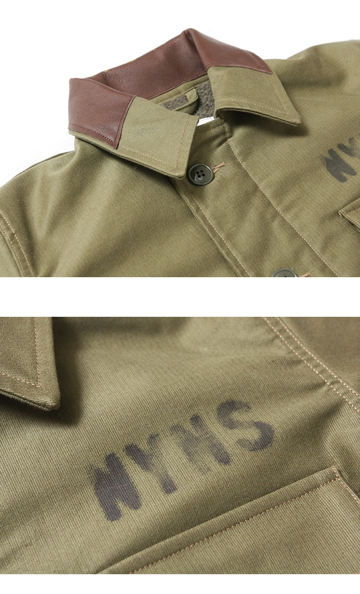 フェローズ カスタムデッキジャケット Pherrow's 18W-P.A2DECK-C