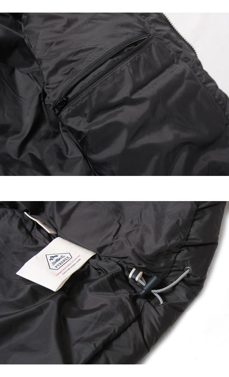 PYRENEX ピレネックス SPOUTNIC JACKET MAT スプートニックジャケット マット HMK004 メンズ ダウンジャケット