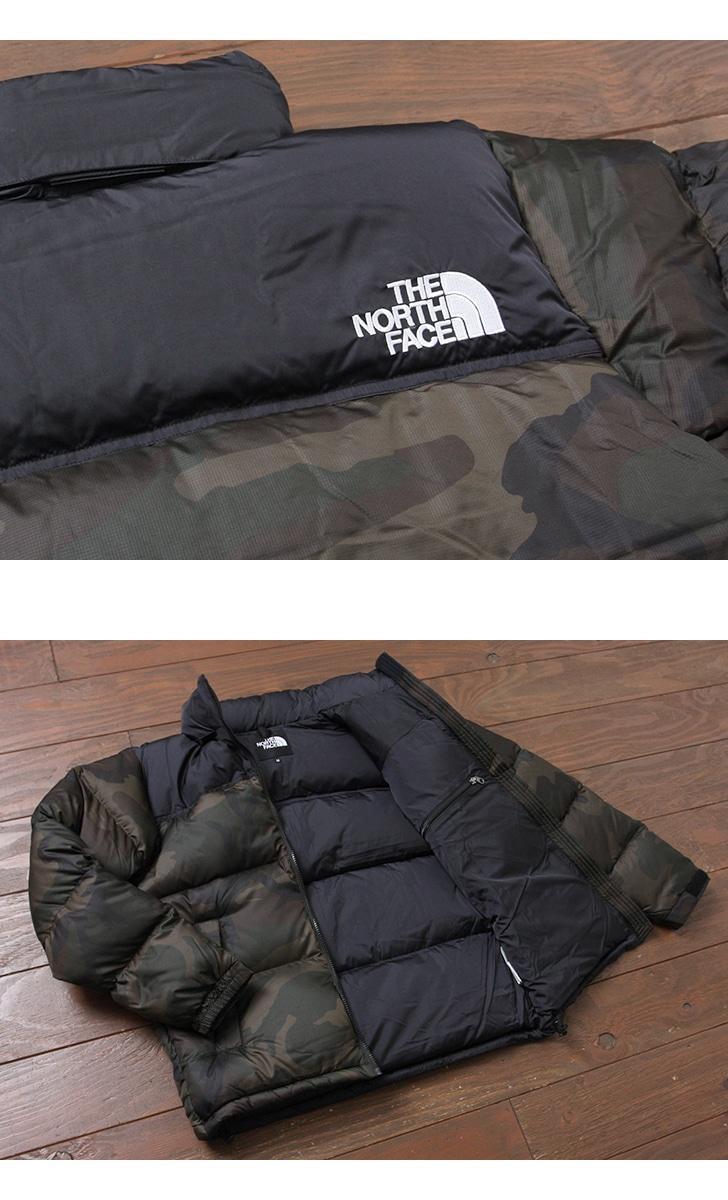 THE NORTH FACE ザ ノースフェイス ノベルティ ヌプシジャケット ダウン カモフラ ND91632