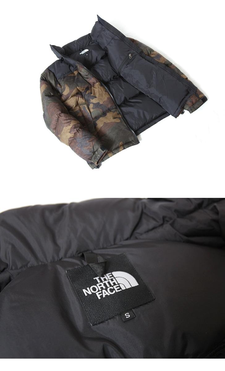 THE NORTH FACE ザ ノースフェイス ノベルティ ヌプシジャケット ダウン カモフラ ND91842