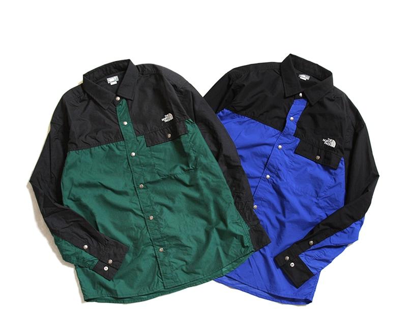 THE NORTH FACE ザ ノースフェイス L/S Nuptse Shirt ロングスリーブヌプシシャツ NR11961