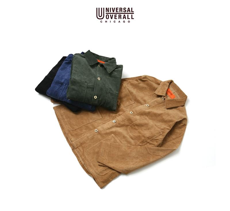 UNIVERSAL OVERALL ユニバーサルオーバーオール COVERALL 8W CORDUROY コーデュロイカバーオール U7434225-C