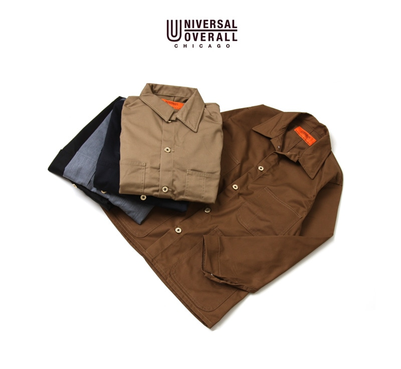 UNIVERSAL OVERALL ユニバーサルオーバーオール COVERALL TC TWIL カバーオール U7434225