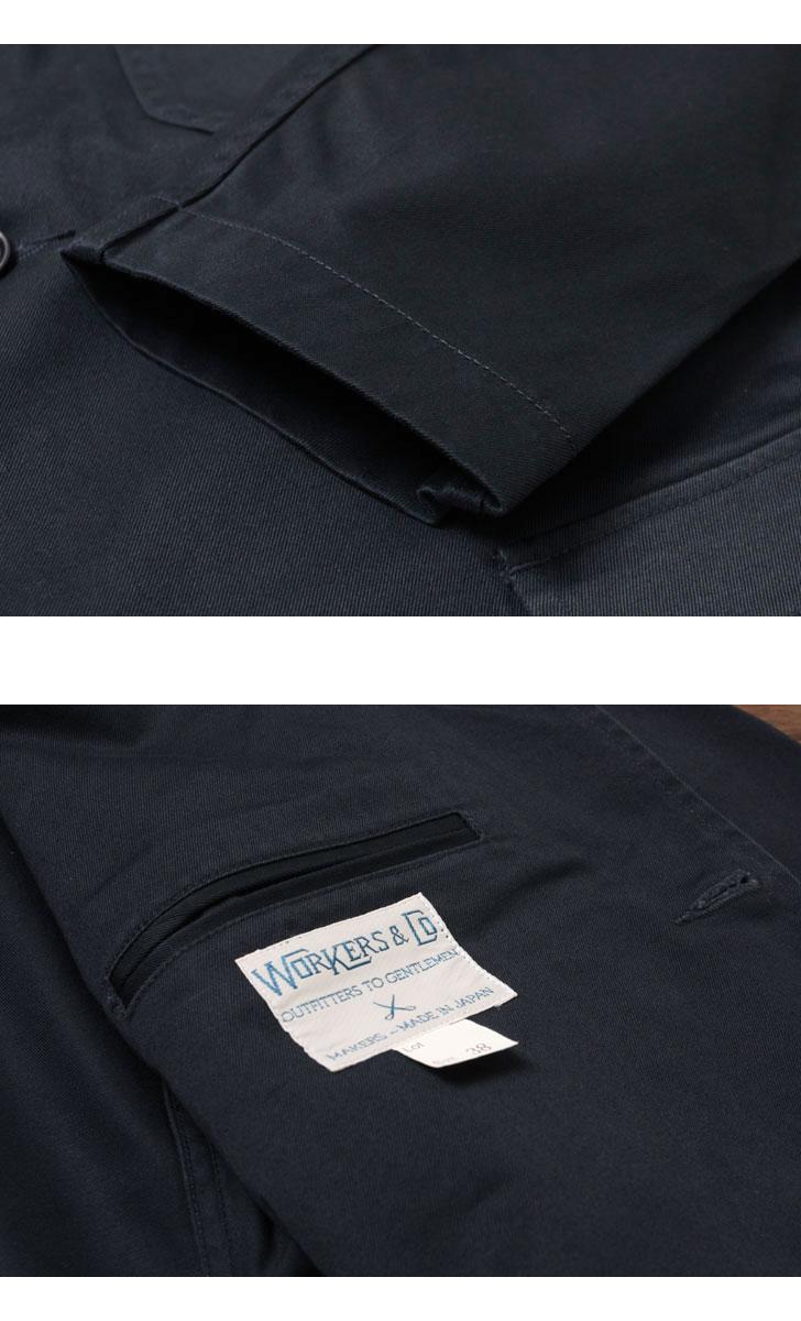 WORKERS ワーカーズ Lounge Jacket ラウンジジャケット