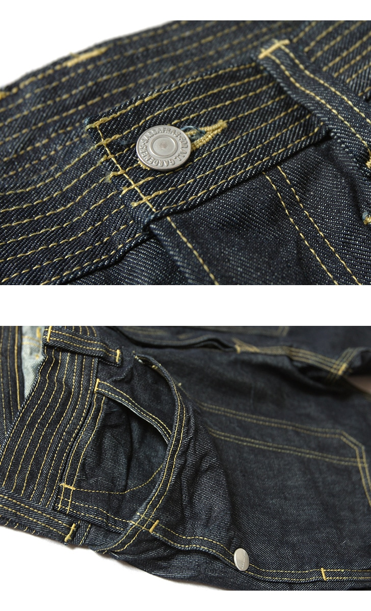 SASSAFRAS ササフラス Fall Leaf Pants 13.5oz Denim フォールリーフパンツ 13.5オンスデニム ジーンズ SF-191491