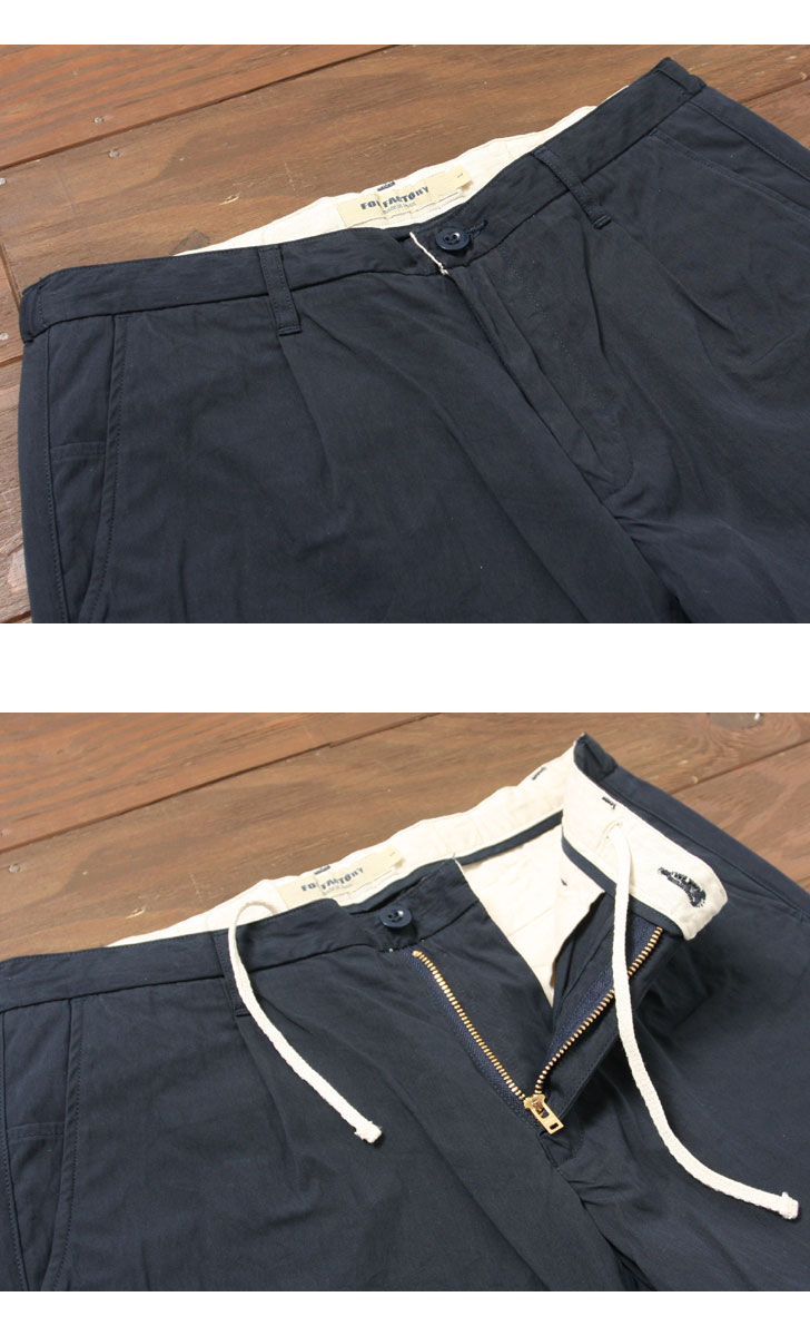 FOB FACTORY CARLO ARMY TROUSERS カルロ アーミートラウザー F0434 FOBファクトリー