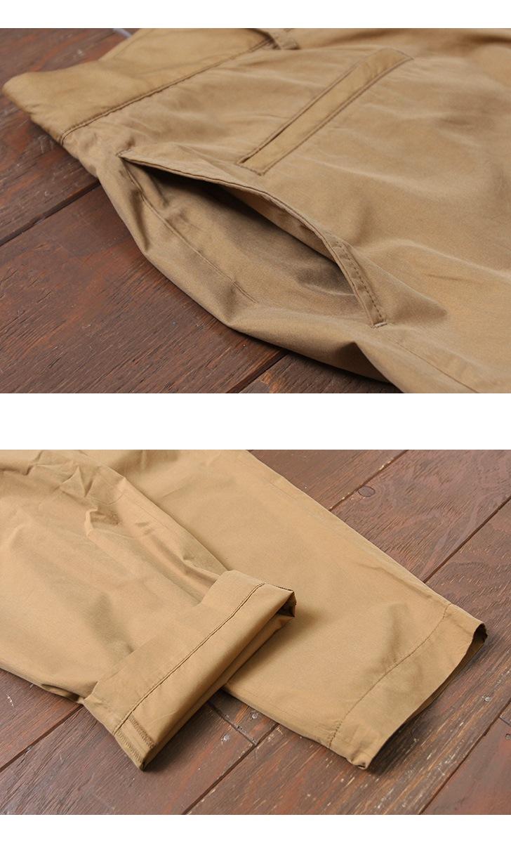 KAPTAIN SUNSHINE キャプテンサンシャイン Finx Cotton-Silk トラベラートラウザー KS8SPT01