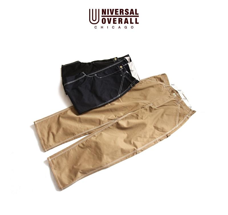UNIVERSAL OVERALL WIDE PAINTER PANTS ユニバーサルオーバーオール ワイドペインターパンツ U813670-C