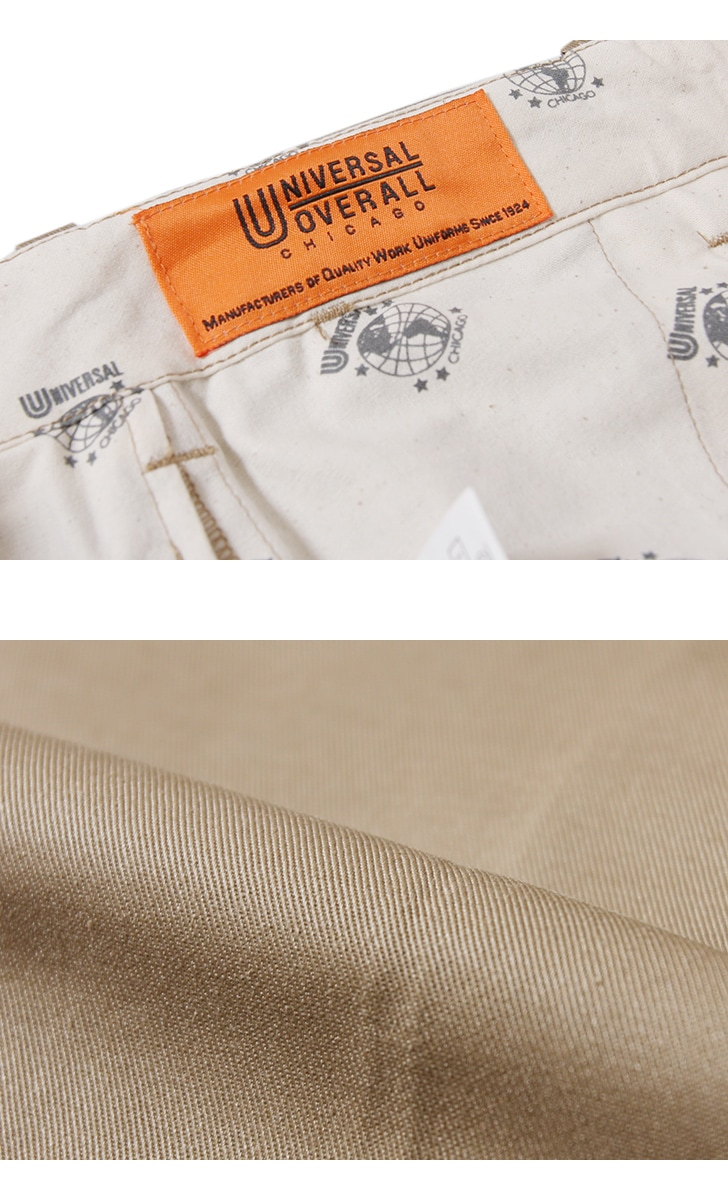 UNIVERSAL OVERALL ユニバーサルオーバーオール テーパードフィット パンツ Tapered Fit Pants T-02