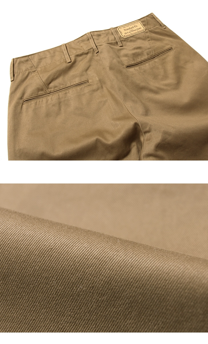 WORKERS ワーカーズ Officer Trousers,Class1 オフィサートラウザー スタンダードフィット