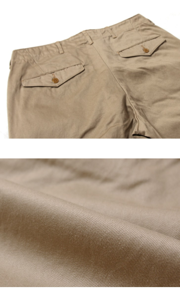 WORKERS ワーカーズ Officer Trousers,Class2 オフィサートラウザー スリムフィット