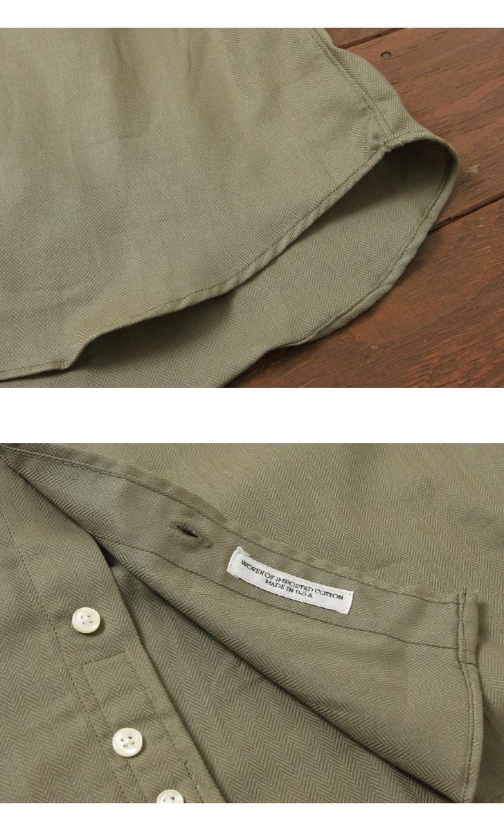 INDIVIDUALIZED SHIRTS インディビジュアライズドシャツ スタンダードフィット ヘリンボン ボタンダウンシャツ