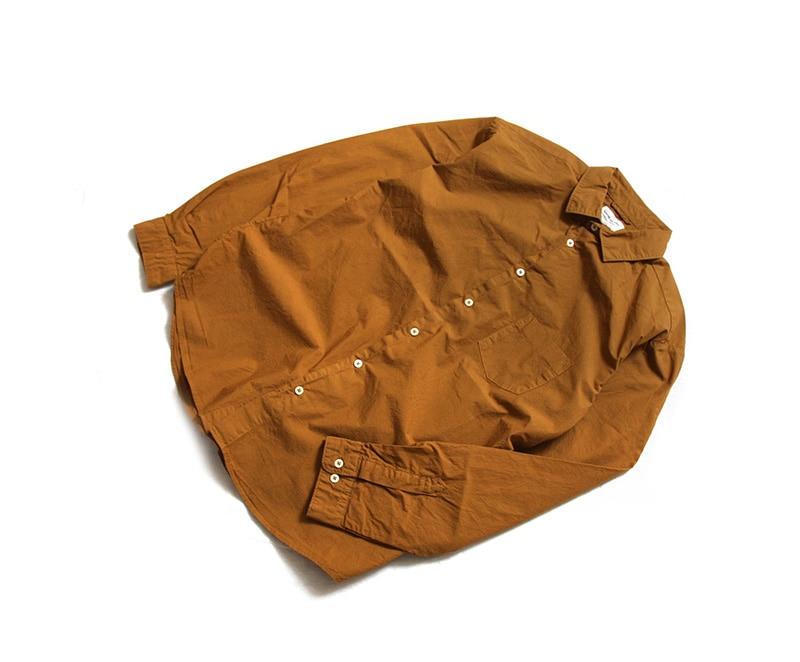マニュアルアルファベット MANUAL ALPHABET ルーズフィット レギュラーカラーシャツ MA-S-302